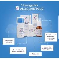 Aloclair Plus Gel 8g Oral Rinse mouthwash 60ml Spray 15ml obat