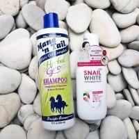 BUNDLE: Mane n Tail Herbal Gro 355ml Shampoo FREE 60ml Travel & Sachet