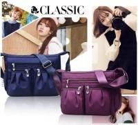 Waterproof Nylon Shoulder Bag Tas Selempang Wanita Import CS-013