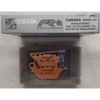 Kampas Rem Depan NMax Aerox155 Mxking Faito Sintered Platinum Edition