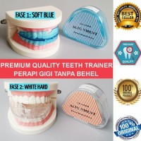 Orthodontic Retainer Teeth Trainer Alignment pelurus merapihkan gigi