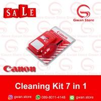 Cleaning Kit 7in1 Canon Red Pembersih Lensa dan Body DSLR Mirroless