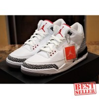 Nike Air Jordan 3 White Cement High Premium Original