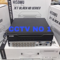 Dvr hisomu jet Black hd series 16ch 5in1 suport semua kamera cctv