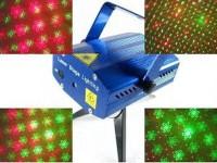 STOK TERBATAS Mini Laser Stage Light Multicolor Projector Tripod