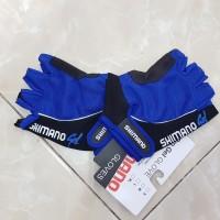Sarung Tangan Sepeda Pro Gel Biru