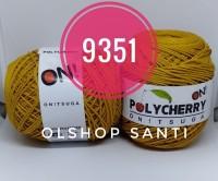 Benang Rajut POLYCHERRY Onitsuga warna GOLD (9351)