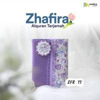 Madina Al Quran Zhafira Rainbow Cover Motif Bunga Katun Jepang