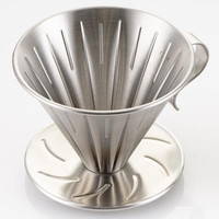V60 Stainless Steel CCFG Coffee Dripper Manual Brew Kecil V60-01
