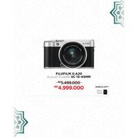Fujifilm XA20 / X-A20 kit XC16-50mm Garansi Resmi Fujifilm Indonesia