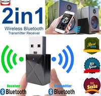 [New!!! 2 in 1] USB Bluetooth Audio Transmitter Receiver dual fungsi