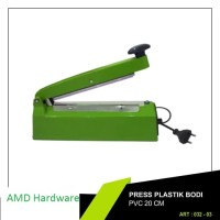 Impulse Sealer 20 Cm/Alat Press Plastik/ Alat Perekat Plastik 20 Cm.