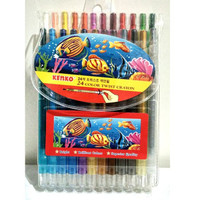 Twist Crayon / Crayon Putar KENKO isi 24 warna ORIGINAL