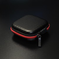 Knowledge Zenith Case Earphone EVA - B001 - Hitam Merah
