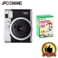 Fujifilm Instax Mini 90 Neo + Paper Twin GARANSI RESMI