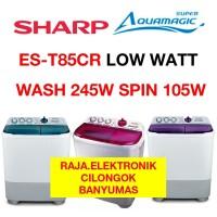 Mesin Cuci SHARP 85CR LOW WATT AQUAMAGIC ES T85CR 8Kg Twin Tub Laundry