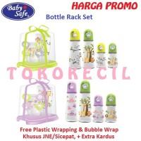 Baby Safe Rack Bottle Set isi 4 Rak botol susu Gift Set