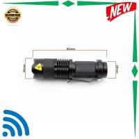 MJ Senter Police Pocketman Senter LED Flashlight 2000 Lumens