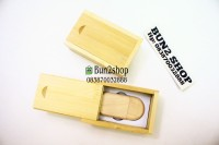 USB Kayu 8 GB + Kotak / USB Promosi / Souvenir Merchandise