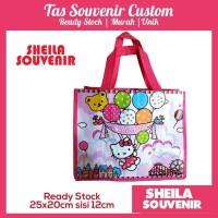 Tas Souvenir Ultah / Tas Ulang Tahun Hello Kitty