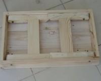 Meja lipat laptop lesehan belajar tv tulis makan kayu jati belanda