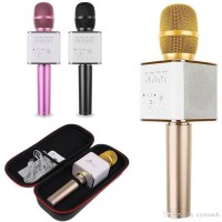 Mic Q9 Wireless Bluetooth Karaoke Player Microphone Speaker KTV #EH115