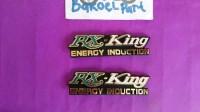 emblem logo box accu bok aki tempong cover yamaha RXKing RX King warna