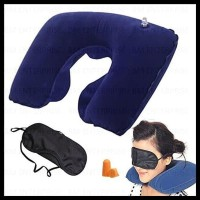 Bantal Leher Inflatable Travele Pillow Air