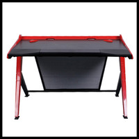 DX Racer Gaming Desk GD/1000/NR - Black, Red