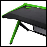 DX Racer Gaming Desk GD/1000/NE - Black, Green