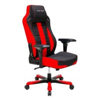 DX Racer Boss Series GC-B120-NR-F2 - Black, Red