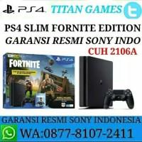 PS4 SLIM 500GB Bundle Fortnite Edition