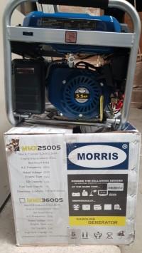 MORRIS Genset Bensin MMX2500s 2000 Watt Gasoline Generator
