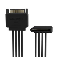 Orico DC15P-PX4 1 to 4 15 Pin Power Extension Cable