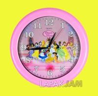 Jam Dinding Ogana 8888 Gambar Tayo, Keropi, Hello Kitty Dll Uk. 30 cm
