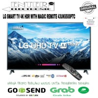LG LED TV 43UK6500 - SMART TV LED 43 INCH UHD 4K HDR LG 43UK6500PTC