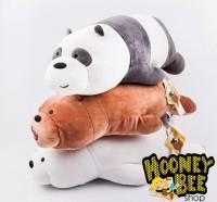 Boneka We Bare Bears Plush MINISO ORIGINAL IMPORT Grizzly Ice bear Pan