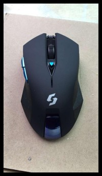 Mouse Wireless Gaming Nc-600 Black Edition Promo Special