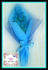 Buket Coklat Bunga Mawar/hadiah unik FREE ONGKIR