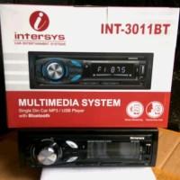 promo tape mobil single din intersys 3011 BT bluetooth