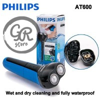 PHILIPS AT-600 Aquatouch Electric Shaver Wet & Dry Rechargeable AT600