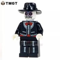 Minifigure Horror Halloween WM8002 Coco Singer Walking Dead