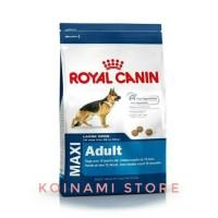 Royal Canin Maxi Adult 4Kg Dog Food / Makanan Anjing
