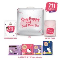 SOFTEX Hello Kitty 911 First Period Kit