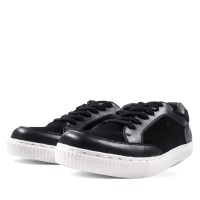 Sepatu Sneakers Pria Men's Republic - Sneez Black NS