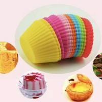Cetakan silikon/Cetakan kue/Cetakan puding/Cetakan coklat/Cupcake