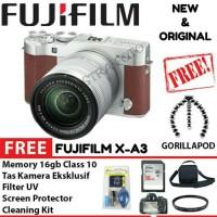 FujiFilm Fuji X-A3 / XA3 / XA 3 /X A3 Kit 16-50mm OIS II Paket Lengkap