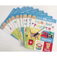 Ready set learn wipe clean books set - activity book - buku import