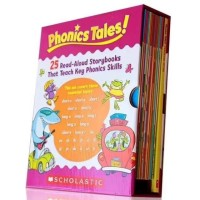 Scholastic phonic tales - activity book