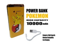 Powerbank unik bergambar karakter PKM 10000mAh 2 output USB power bank